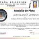 Alto Blanco Verdejo. Medalla de plata. Concurso España Selección 2021