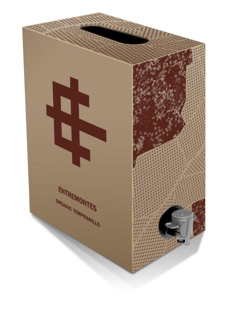 BAG IN BOX ENTREMONTES Tempranillo Ecológico
